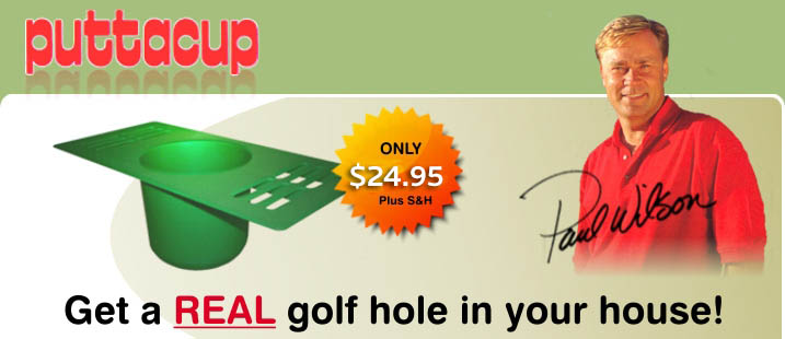 puttacup indoor practice putting aid